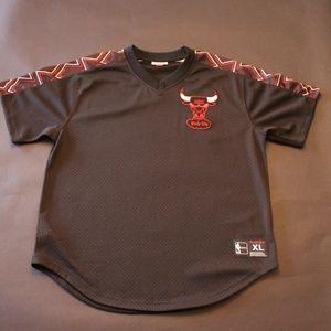 Mens XL Mitchell & Ness Chicago Bulls Jersey